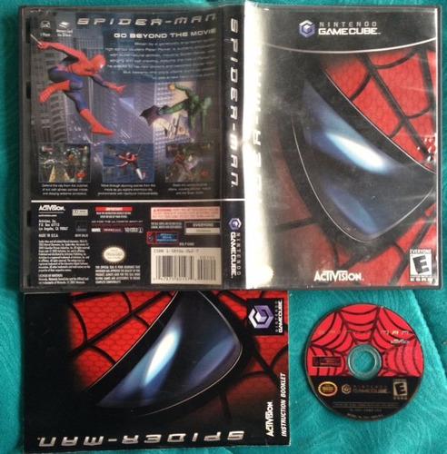 spider man 1 - hombre araña  - completo / gamecube & wii
