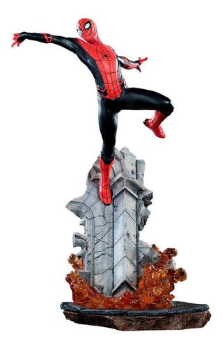 spider man 1/10 bds far for home iron studios