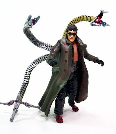 spider man 2 doc ock dr octopus toy biz marvel novo r