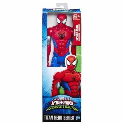 spider man 30 cm titan hero series figura accion ref. b9760