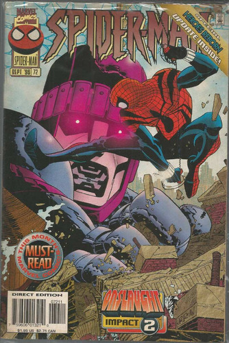spider-man 72 - marvel - bonellihq cx72 g19