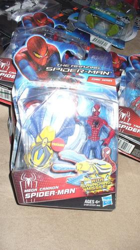 spider-man comic-series mega cannon marvel exelent traje