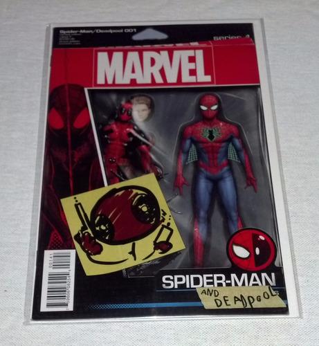 spider man deadpool  #001  inglés marvel comics