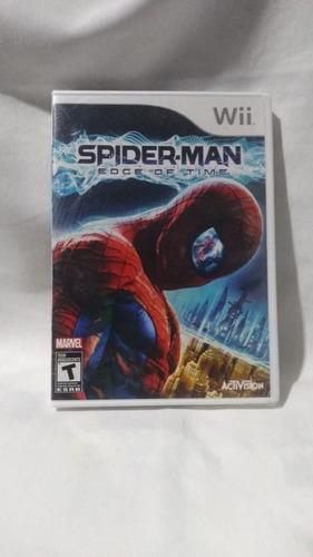 spider-man edge of time - nuevo y sellado - wii