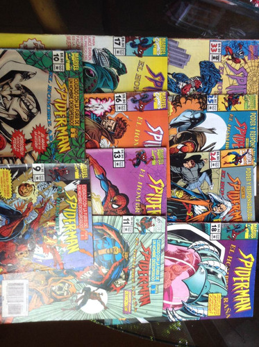 spider-man el hombre araña marvel comics 10 numeros