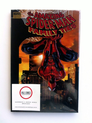 spider man family ties prem. ed. hc (2009) marvel