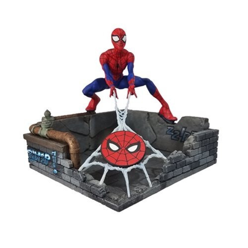 spider-man finders keyper estatuilla