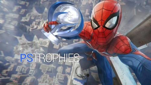 spider man (homem aranha) - platina para ps4