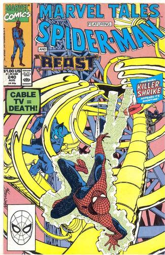 spider man  nº 240 -  homem aranha importado usa