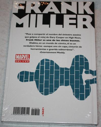 spider-man. obras completas de frank miller