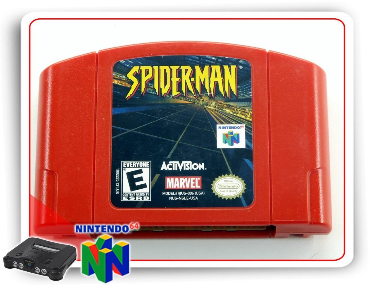 Spider Man n64 cartucho