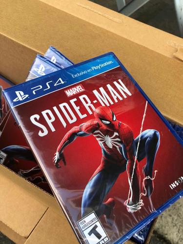 spider man ps4 + dlc latino  pac de trajes, habilidades