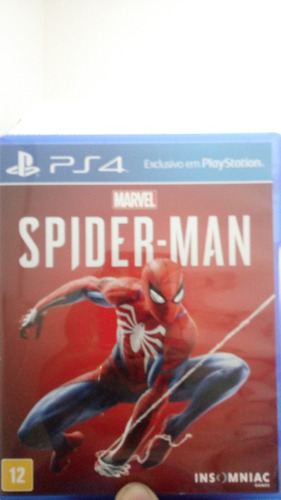 spider-man ps4 - midia física