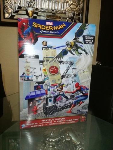 spider man set ataque aereo