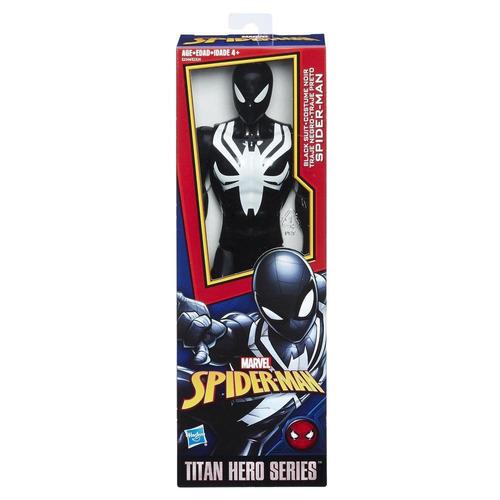 spider-man titan hero spider-man black (6372)