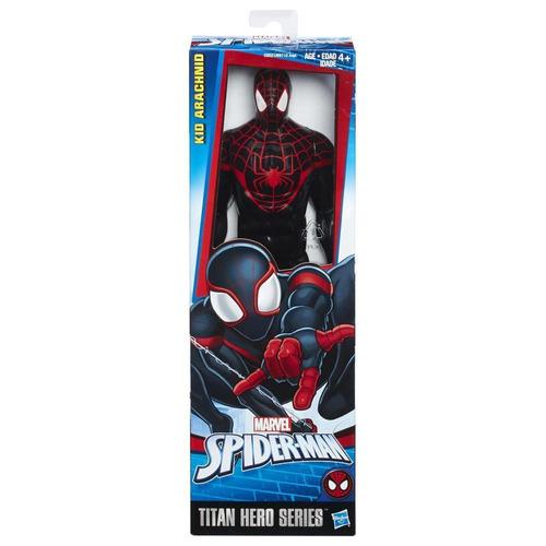 spider-man titan hero trajes kid arachnid 12 pulgadas