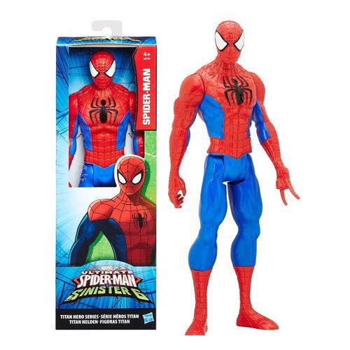 spider-man titán héroe hombre araña original de hasbro b9760