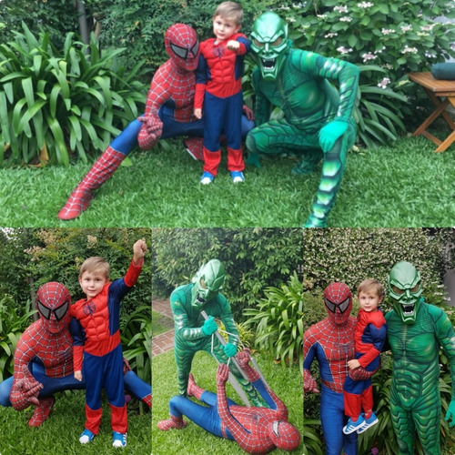 spider-man,hullk,capitan america,mujer maravilla,show