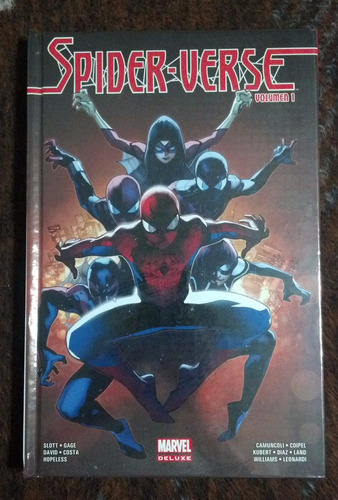 spider-verse volumen 1 marvel comics mexico