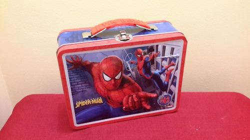 spiderman 2007 tin box lonchera de coleccion   c3225