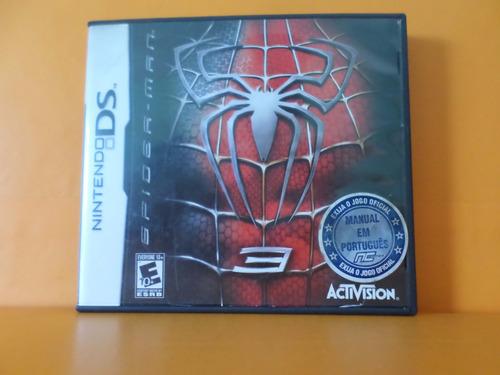 spiderman 3 original completo nintendo ds