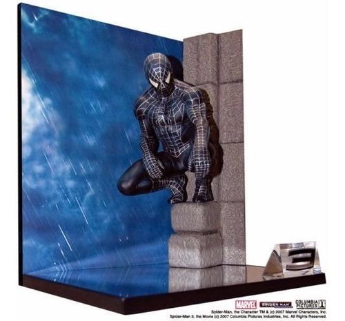 spiderman 3 statue in the church traje negro_master replicas