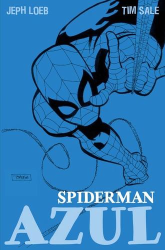 spiderman azul hombre araña marvel hc tapa dura castellano