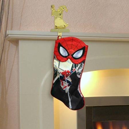spiderman bota navideña de marvel nueva de importación.
