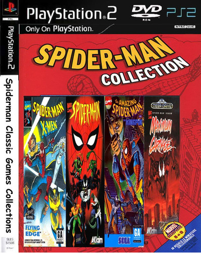 spiderman classic games collections - playstation 2