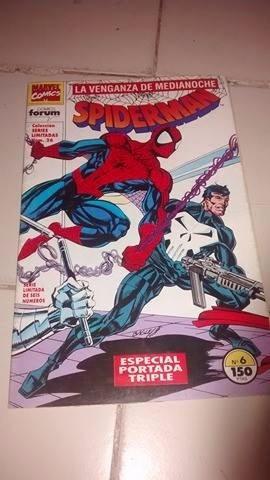 spiderman con punisher - especial triple portada - forum