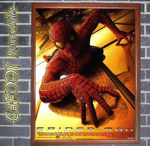 spiderman el hombre araña poster enmarcado saga peliculas