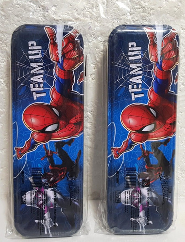 spiderman fiestas  lapiceras 10 metalicas recuerdos piñata