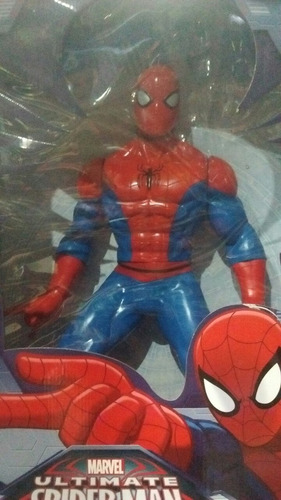 spiderman gigante de colección 50cm buenisimo