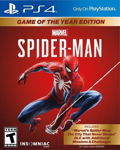 spiderman goty ps4 - juego fisico - envio gratis