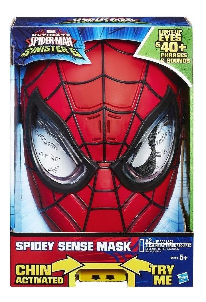 Spiderman Hombre Araña Mascara 40 Frases Sonidos Y Luces