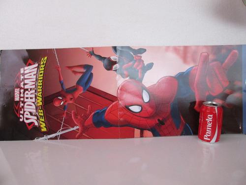 spiderman hombre araña promo publicitario leer descripción