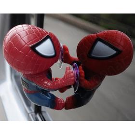 Spiderman Hombre Araña Trepando Escalando X Ventana Vidrio