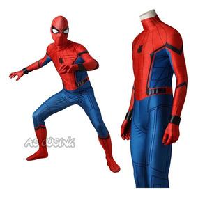 d10499ecdd2770 Spiderman Homecoming Cosplay Homem Aranha