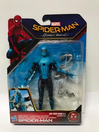 spiderman homecoming traje alta tecnología