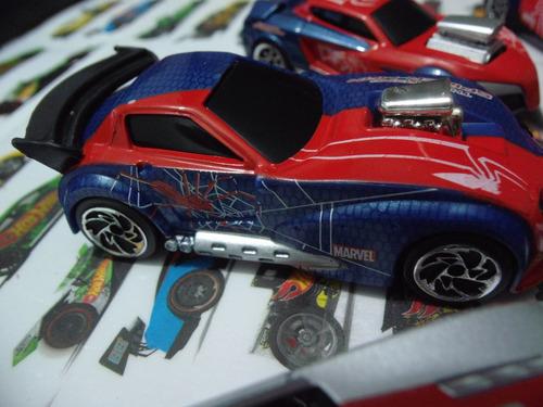 spiderman majorette die cast coleccionables1:64 pista carros