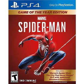 Spiderman Marvel Goty Ps4 Nuevo Original Entrega Inmediata