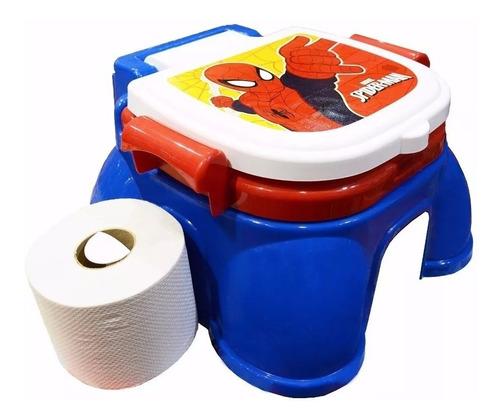 spiderman marvel pelela 3 en 1 con portarollo wayna