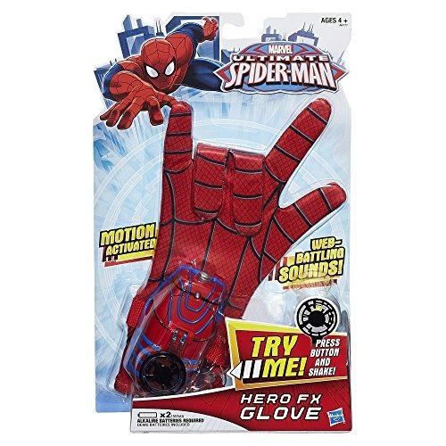 spiderman marvel último spiderman hero fx glove