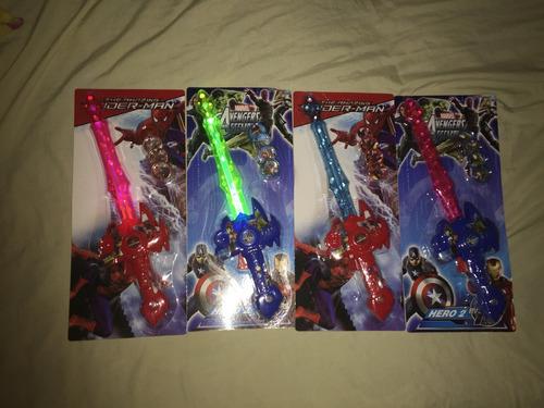 spiderman mascara + figura 20 cm batman super héroes