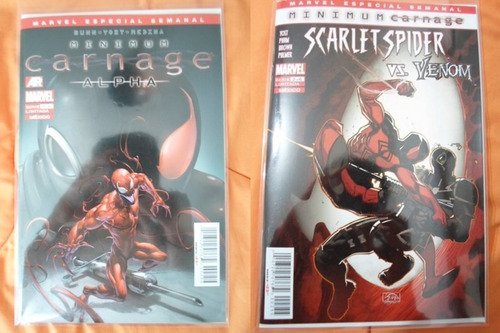spiderman minimum carnage marvel comics!!! 70000 completa