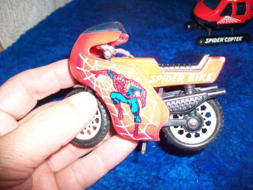 spiderman, moto en perfecto estado, como lo ve.