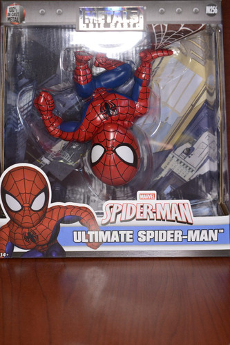 spiderman original, jada toys metals die cast 6 pulgadas