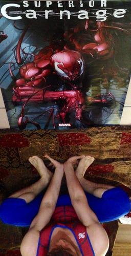 spiderman poster de superior carnage