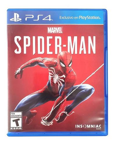 spiderman ps4 - 9/10 (usado - buen estado)
