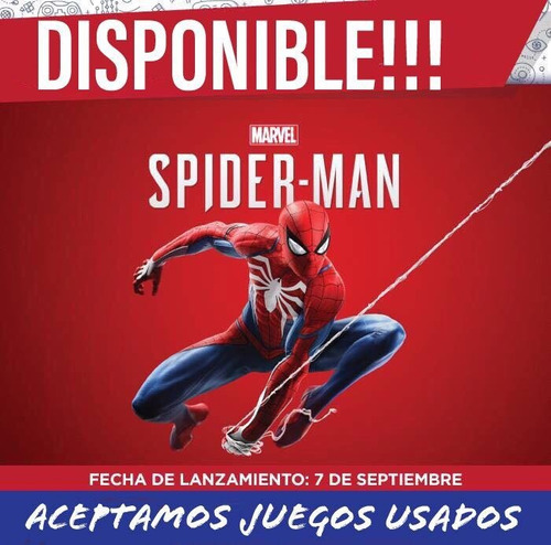 spiderman ps4 entrega inmediata!!!